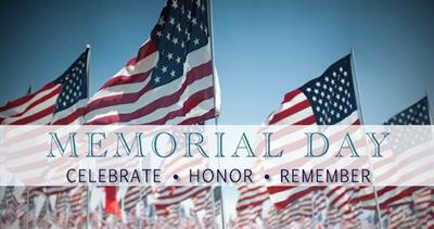 ECAR Will Be Closed For Memorial Day